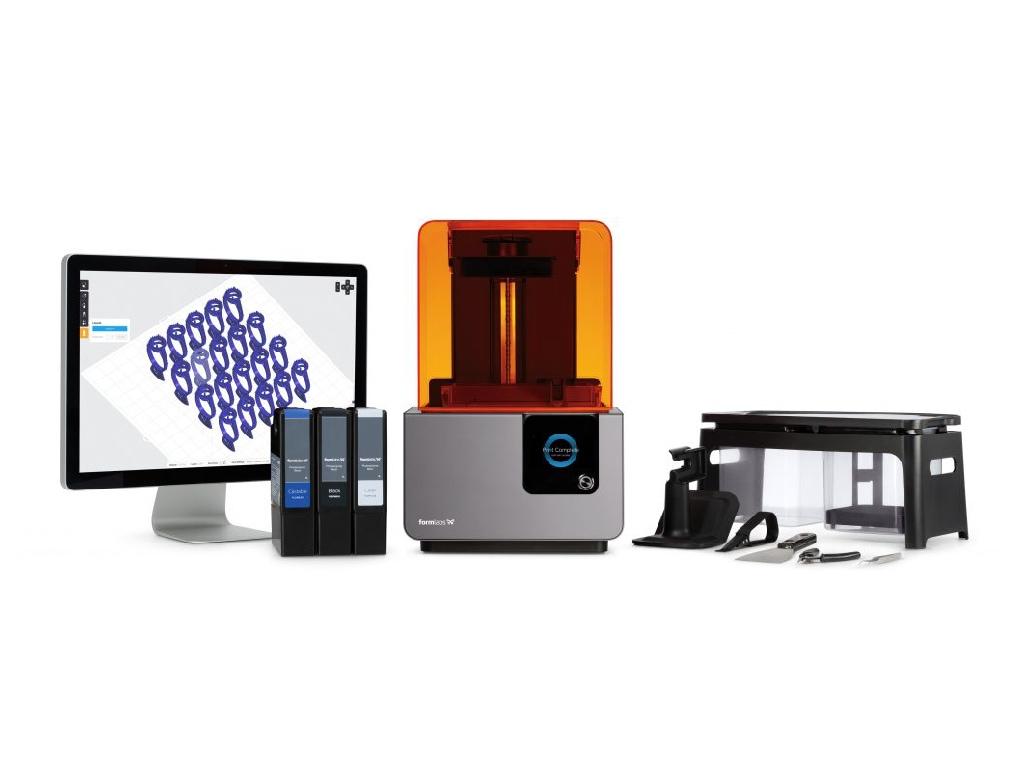 Form2 雷射光固化3D印表機-朗日牙醫-齒科設備-台中牙齒美白推薦