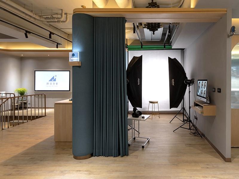 陶瓷貼片-推薦-台中-朗日牙藝-DSD微笑設計-攝影棚